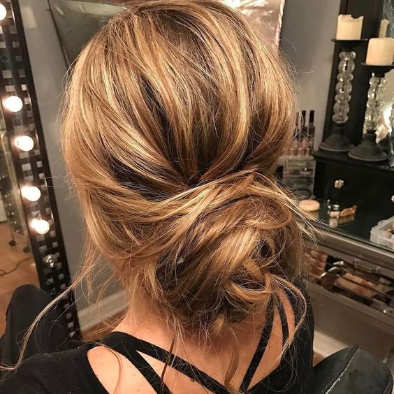 tousled-updo