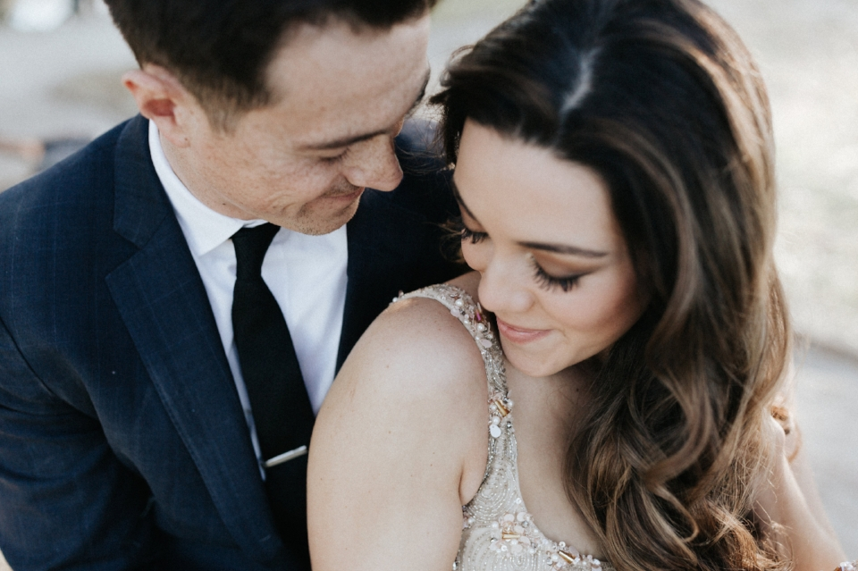 Charleston hair and makeup for engagement shoot