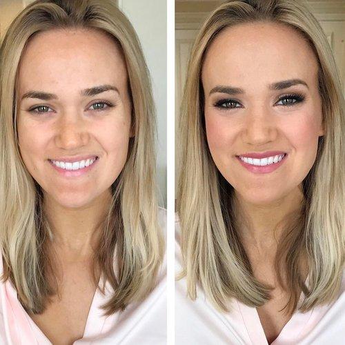 Airbrush Makeup For Wedding   Beauty Asylum Hair Airbrush Makeup Wedding Bridal