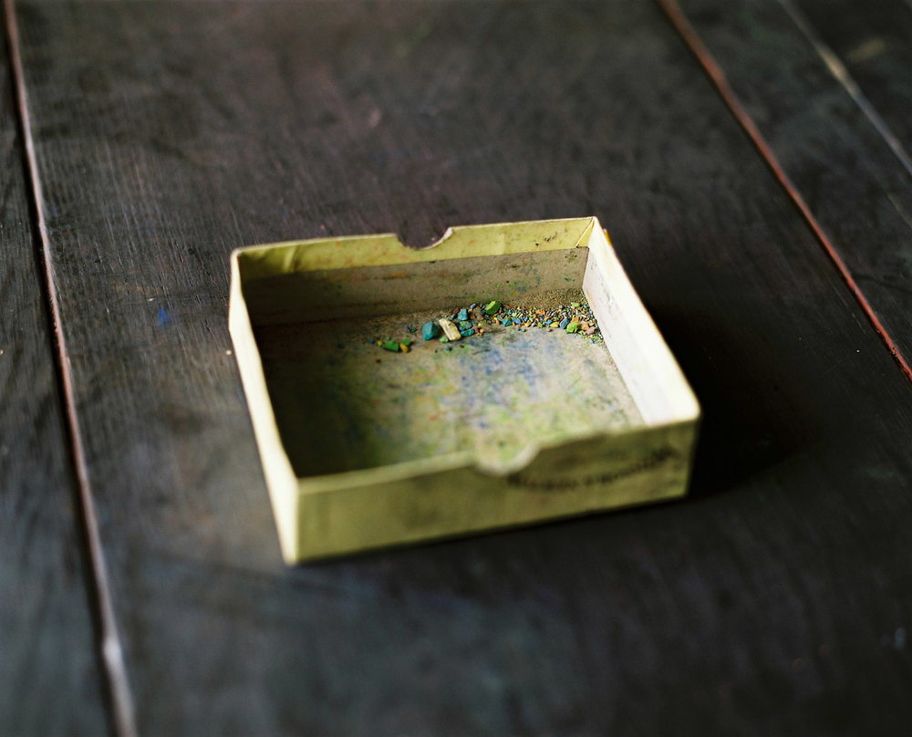 Empty pastel box, 2010    Project Info