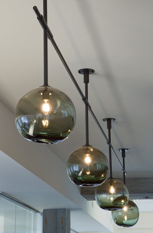 reception light fixture - pop multimedia