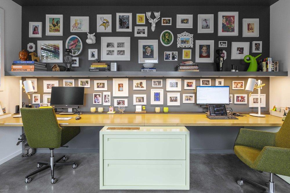 desk - The Todd residence