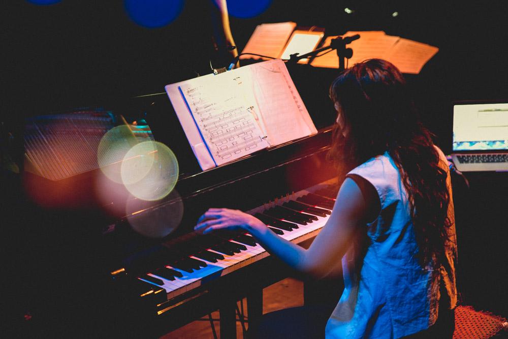 Performing with Olivia De Prato at the RC4 Festival, Rio De Janeiro, Brazil