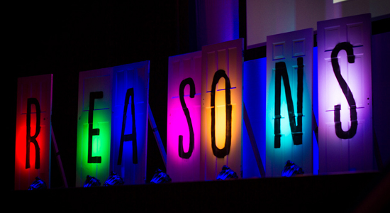 Reasons to be Creative 2013