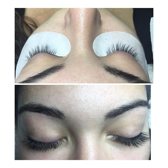 Eyelashes extensions  Classic eyelashes extensions, Volumes Eyeslash extensions  @prettynailskt  Kingston Upon Thames # Surrey #