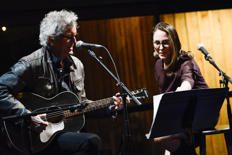 Rodney Crowell, Musician + Mary Karr, Author