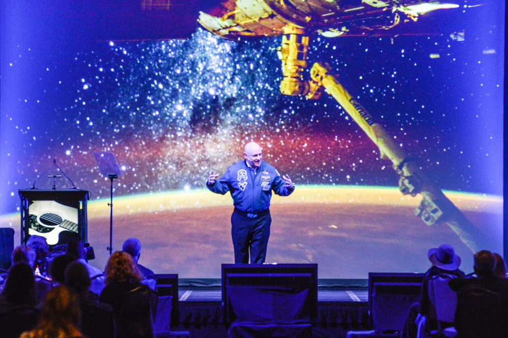 Scott Kelly, Astronaut, FCIP Convention