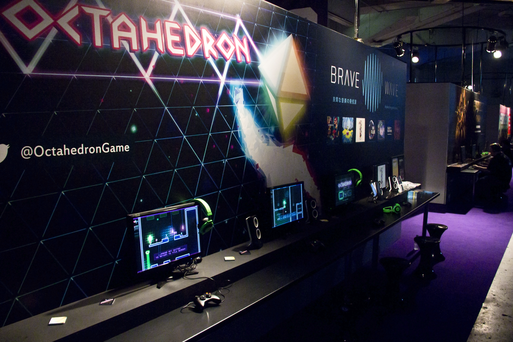 Octahedron @ EGX 2014 ◆ All photos by:  Kai-Zhun Leong