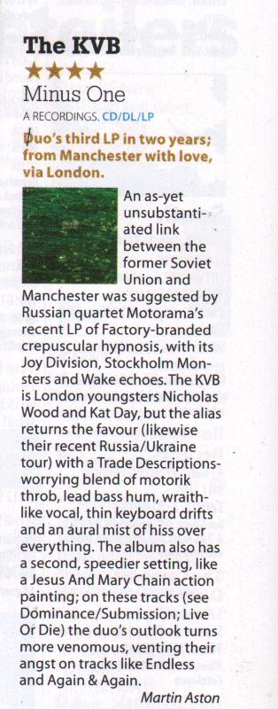 Mojo Magazine January 2014
