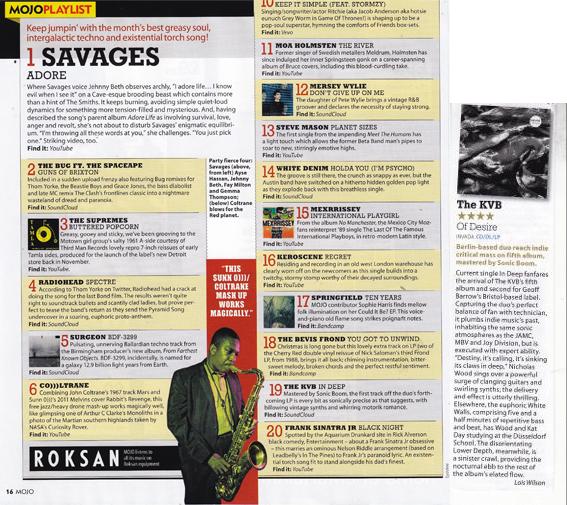 Mojo Magazine March 2016