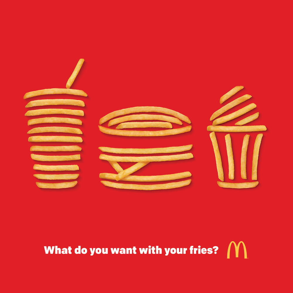 What do you want with your fries?