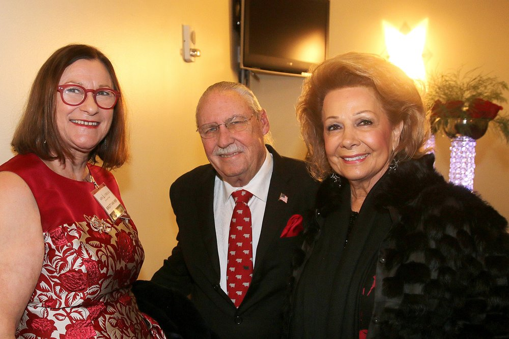 Birgitt van Wijk, Gala Chair, with Arthur & Philamena Baird.jpg