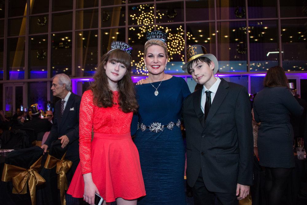 Victoria Von Stein, Stephanie Von Stein, and W.J. Von Stein
