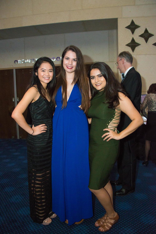 Michelle Vu, Brittany Leavitt, Iris Karami