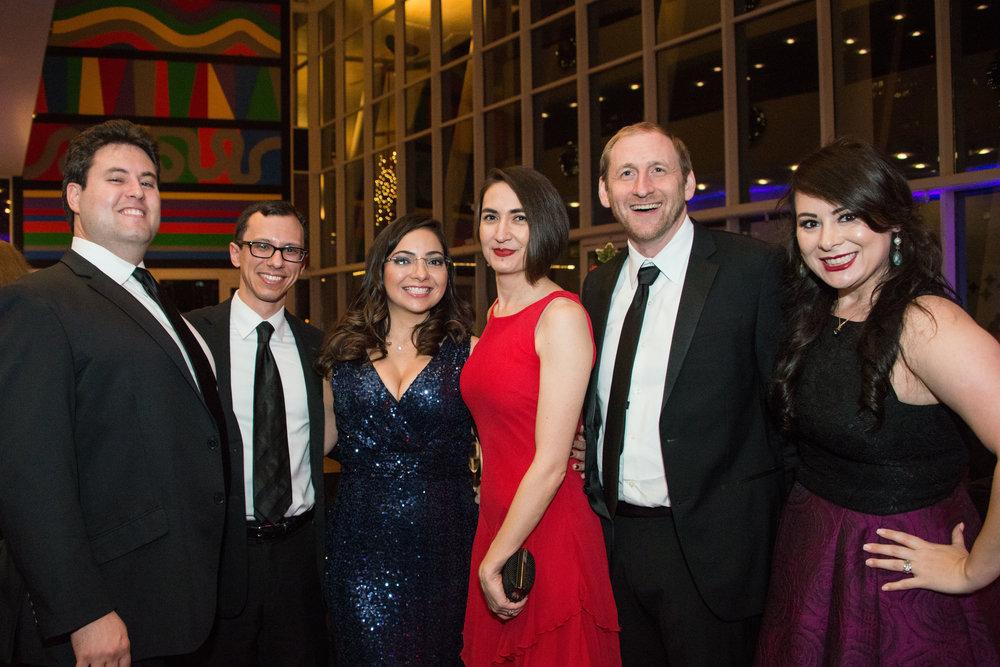 Jason Altobelli, Andres Quesada, Julina Hidalgo, Toni Oplt, Ed Schneider, and Jacqueline Altobelli