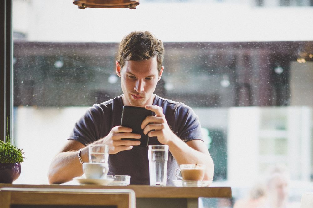 Table for one: A surprisingly large percentage of business dining is single diners on the go.