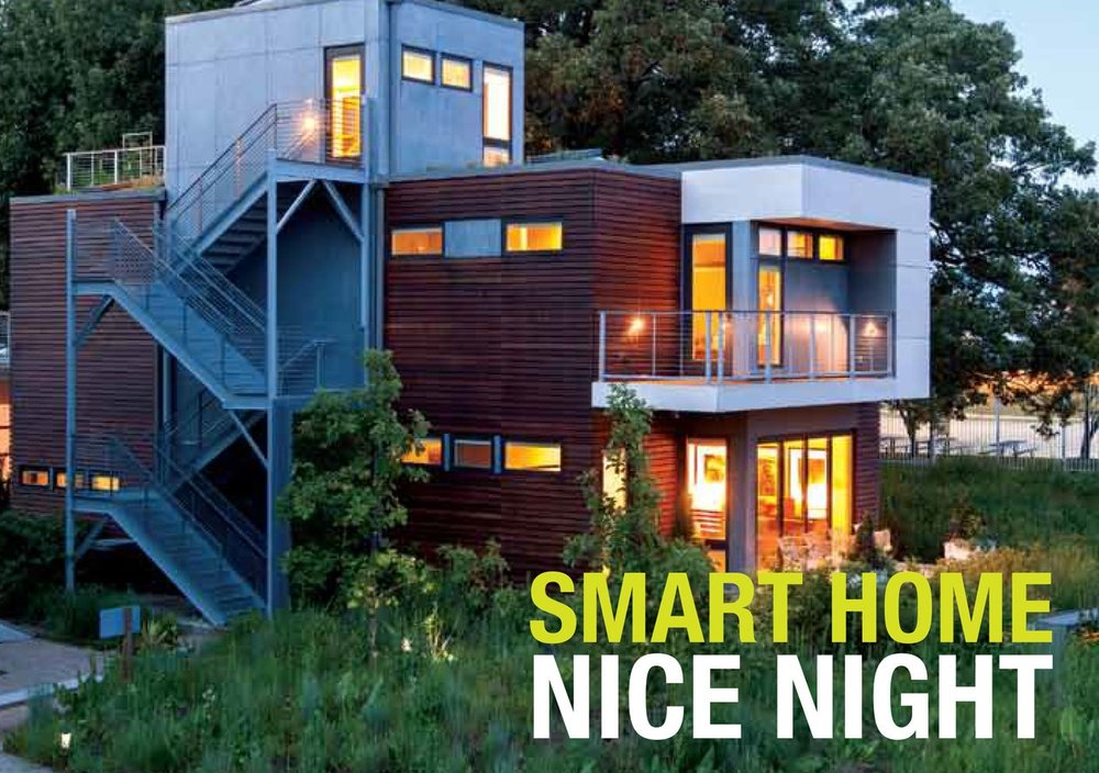 Smart Home: Green + Wired  | Invitation and Exhibit Guide