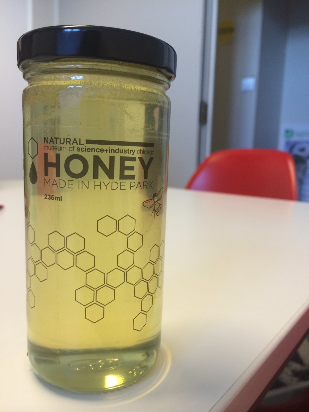 A little DIY project paired with homemade honey, made right in the backyard of the Museum of Science and Industry.