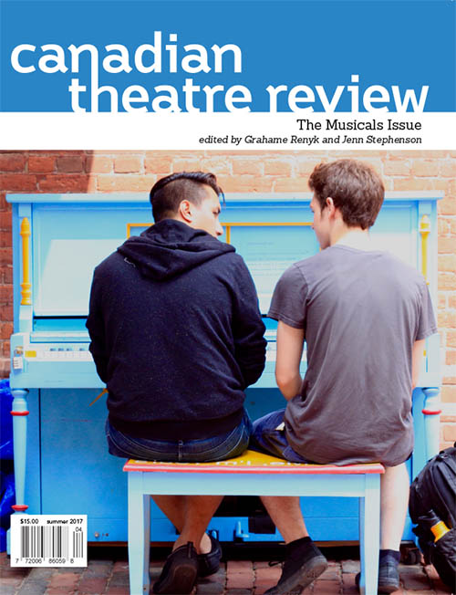 Canadian theatre review - Choi, Lam, Simmons, ed. Renyk (Summer 2017)