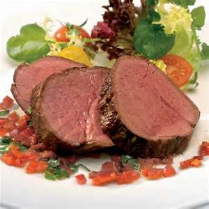 HERB-ROASTED CHATEAUBRIAND w/ BRANDIED SHALLOT REDUCTION