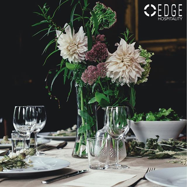 This centerpiece ❤️ Did you know that we cater?! Catering by Edge has over the years received numerous awards for innovative professional event production.
