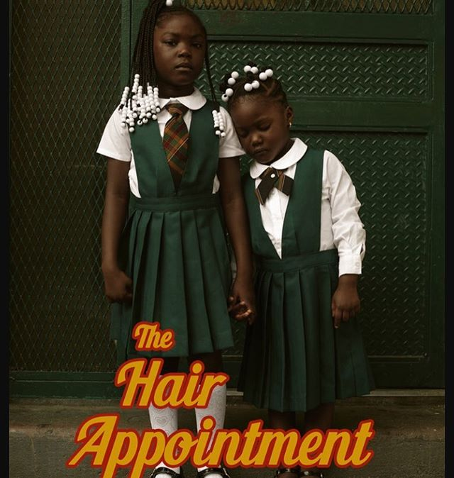 "2/3. So excited to be apart of the live event to this beautiful (viral) photo project titled ""The Hair Appointment"" on the beauty of black hair in braids! Tonight the team sold out @okayspace TWICE. Cant wait to perform and to show off my hair. Enjoy these beautiful photos by @josefadamu and hair by my girl @helena.koudou 💕 (go to @ssunday.co for more info on tonight's event and photos!)"