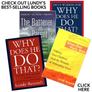 Lundy Bancroft , Author, Workshop Leader & Consultant on Domestic Abuse & Child Maltreatment