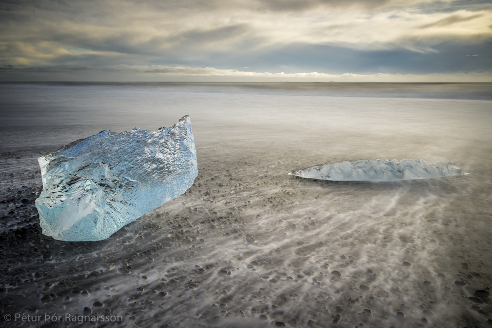 South Coast Photography With Glacier Lagoon The Black Sandy Beach By Jokulsarlon