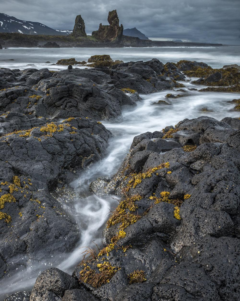 Lóndrangar/Malarrif - Snæfellsnes peninsula