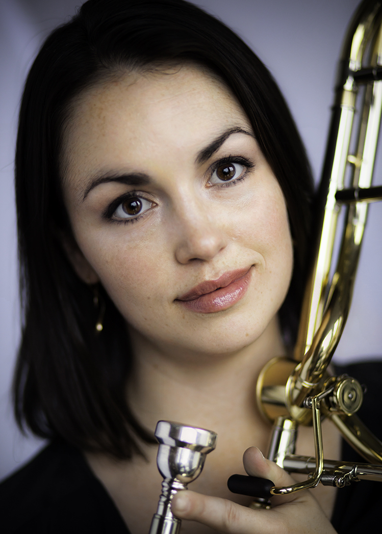Nicole Abissi - Trombone   Photo credit - David Finlayson Photography