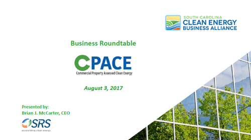 - Download Brian McCarter'sC-PACE Business Roundtable Presentation Click Here to Download