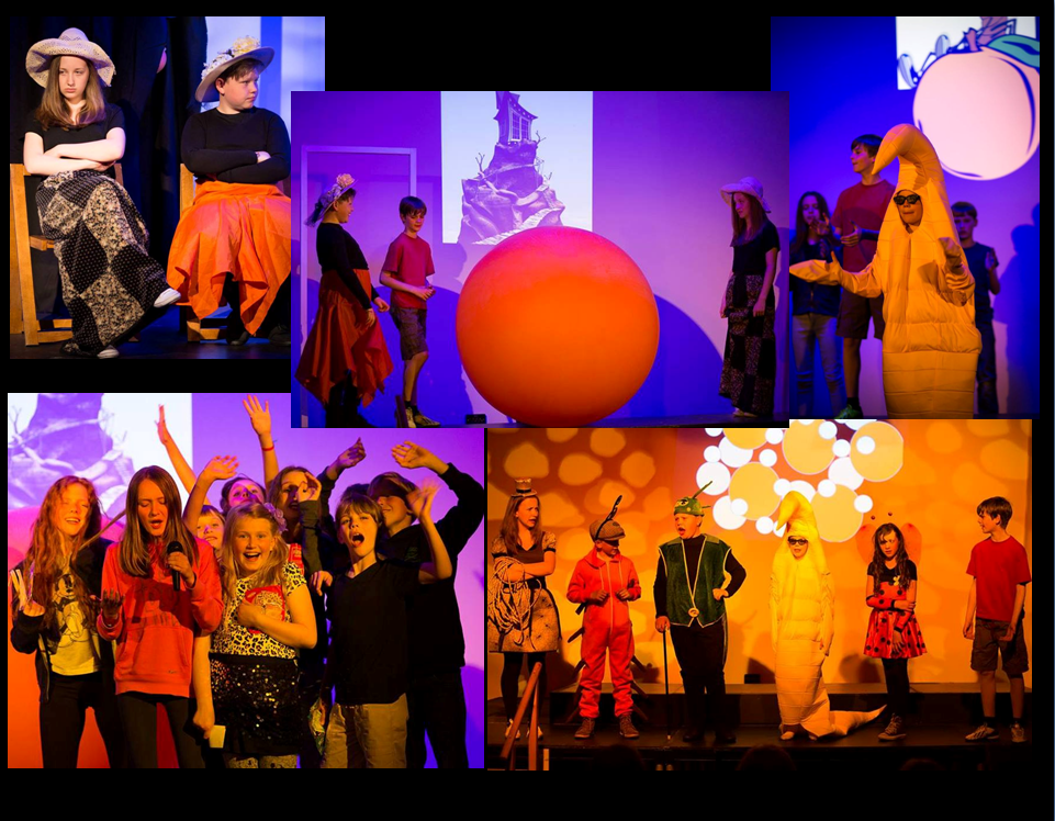 Bollington Festival Players JAMES and the GIANT PEACH by Raold Dahl - June 2015