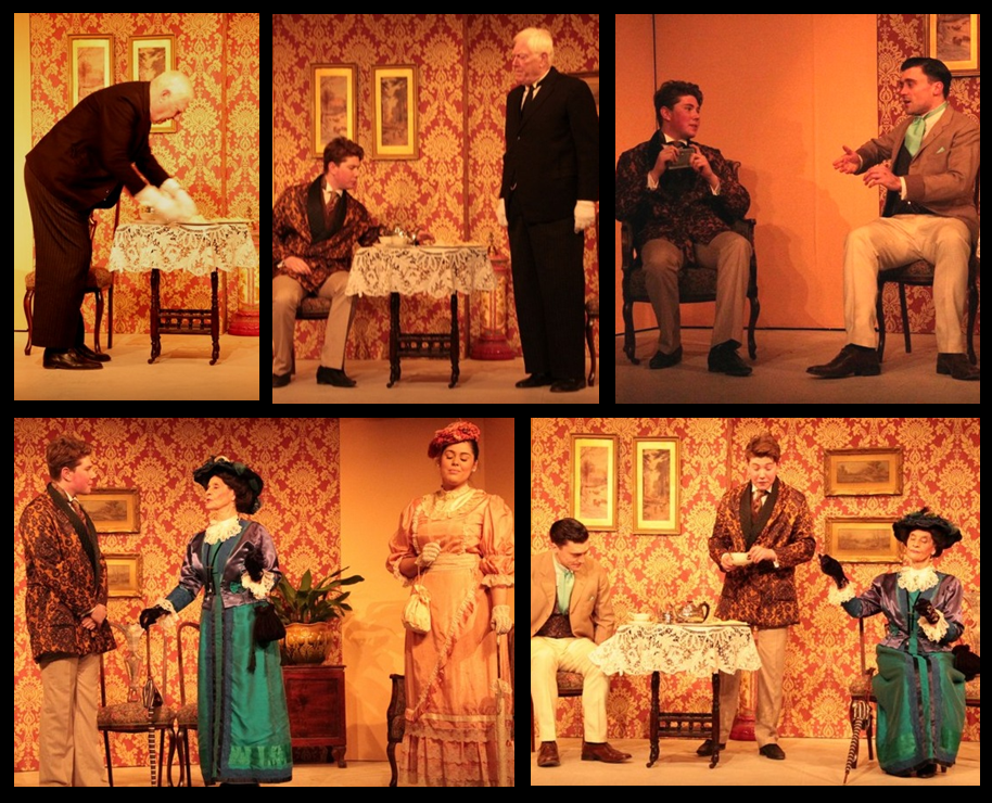 Altrincham Little Theatre THE IMPORTANCE OF BEING EARNEST by Oscar Wilde - Jan 2015