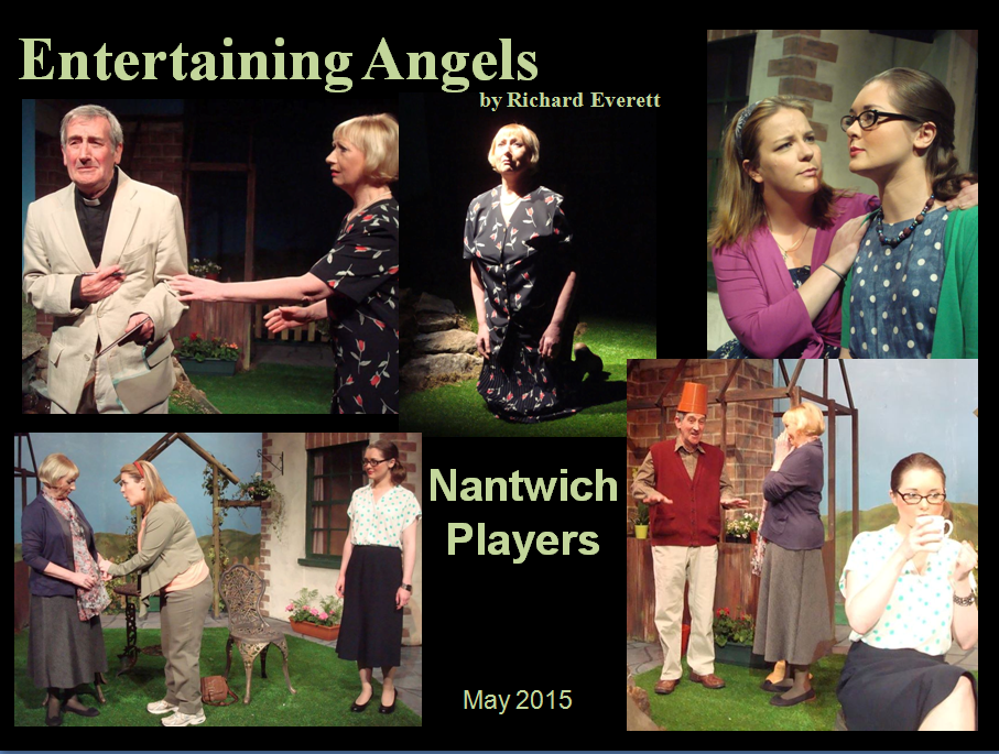 Nantwich Players ENTERTAINING ANGELS by Richard Everett - May 2015