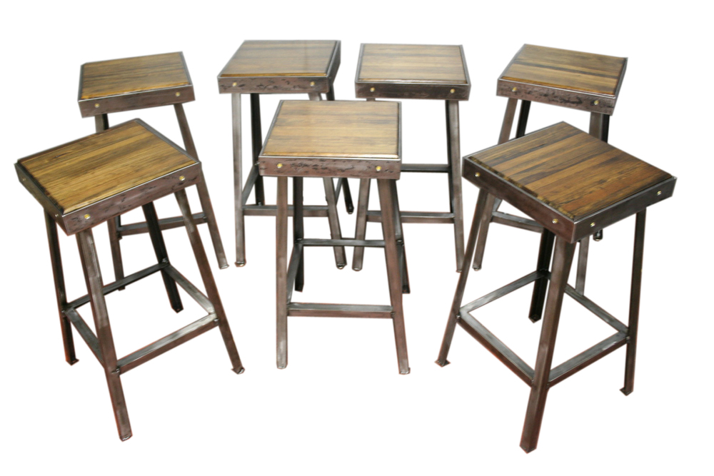 Bowling Alley Bar Stools $225