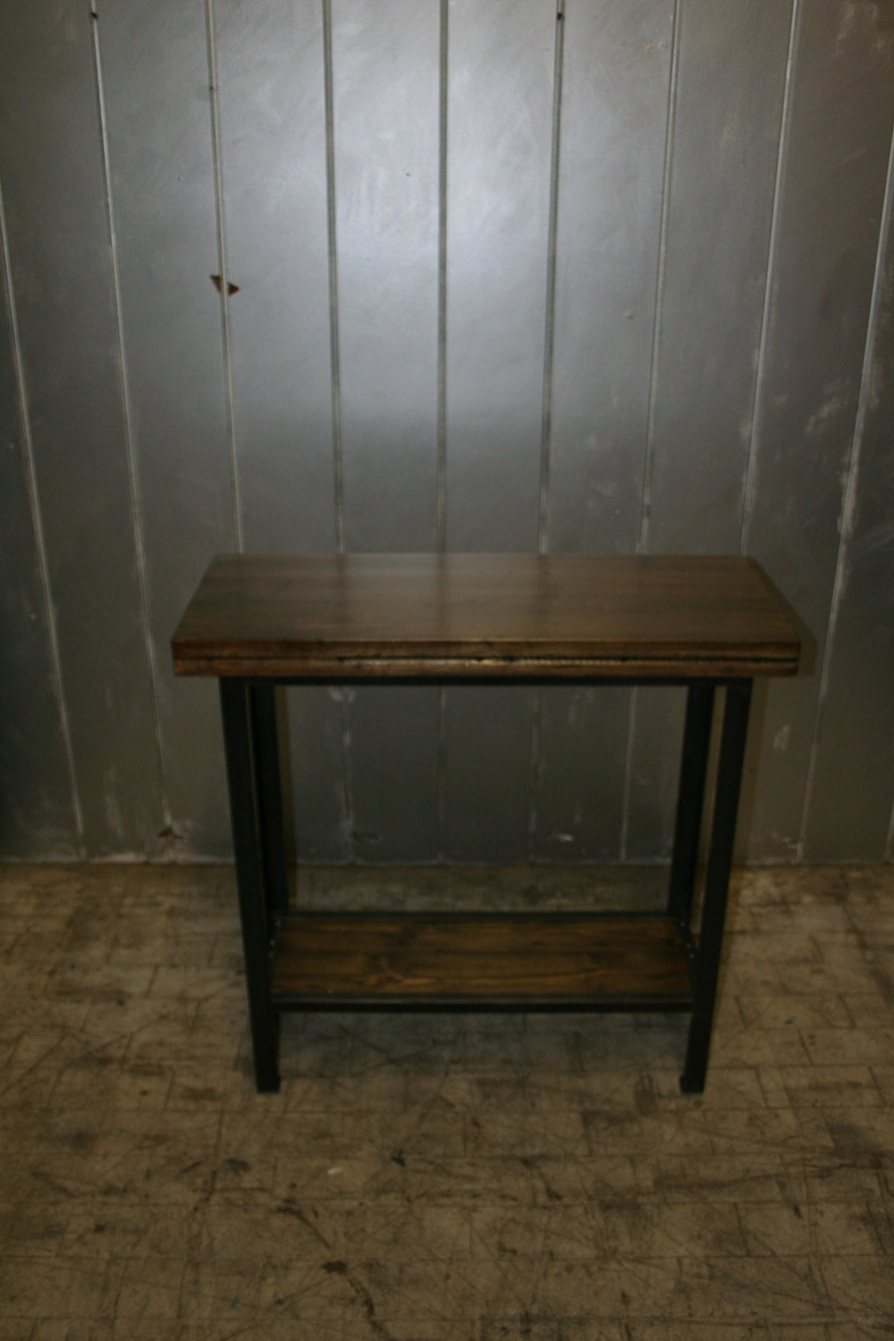 "Maple Bowling Alley Console Table 34"" x 14"" $475"