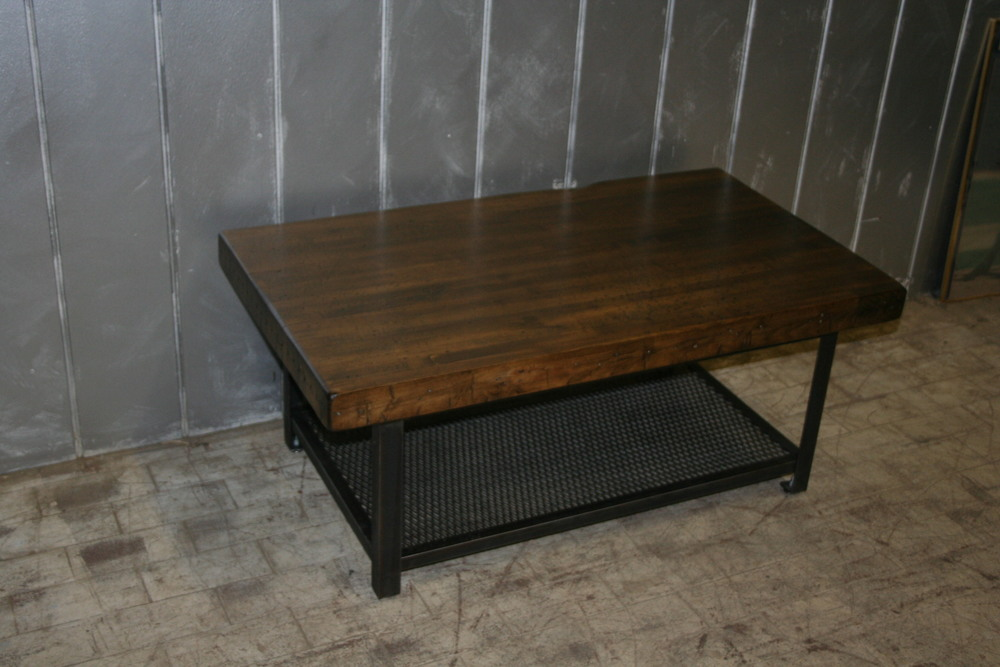 Maple Bowling Alley Coffee Table $595