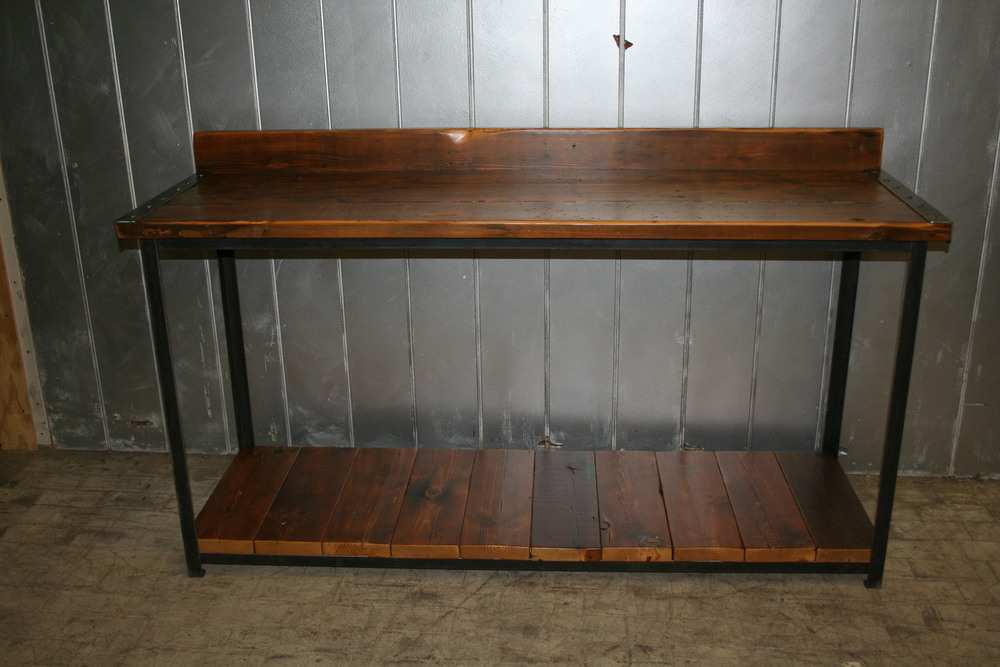 Reclaimed Plank Workbench $1025