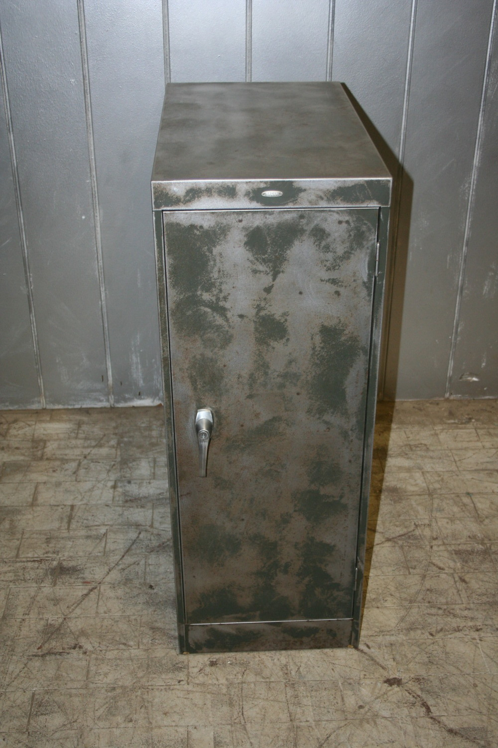 sold ! Reclaimed Steel Locker $275