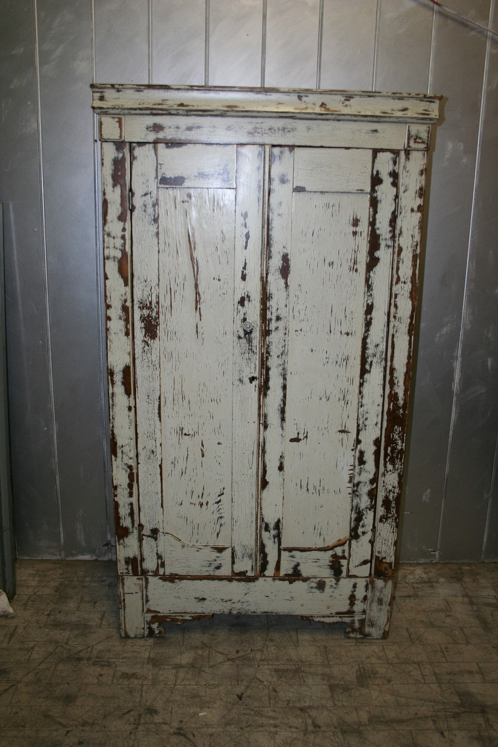 sold ! Primitive Farm House Cabinet $950
