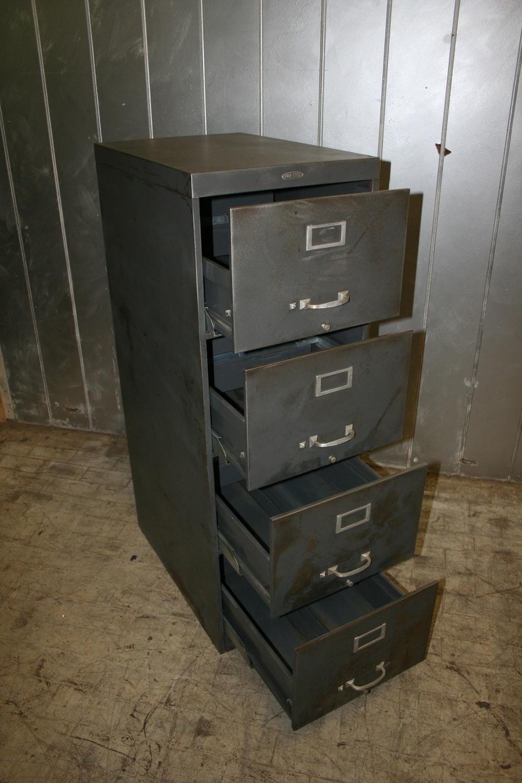 Vintage Steel File Cabinet $275