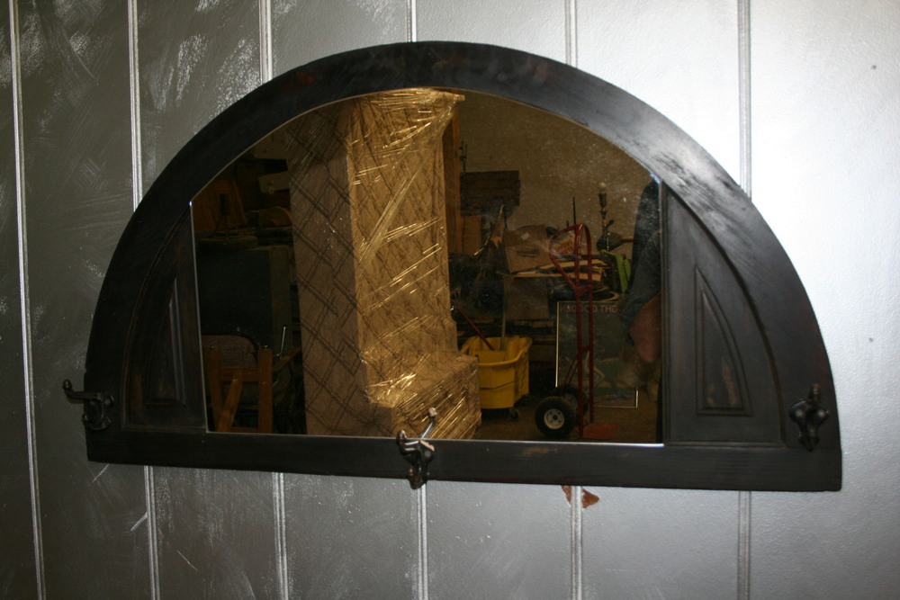 Industrial mirror $175