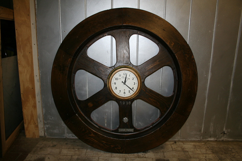 Antique Factory mold clock $750