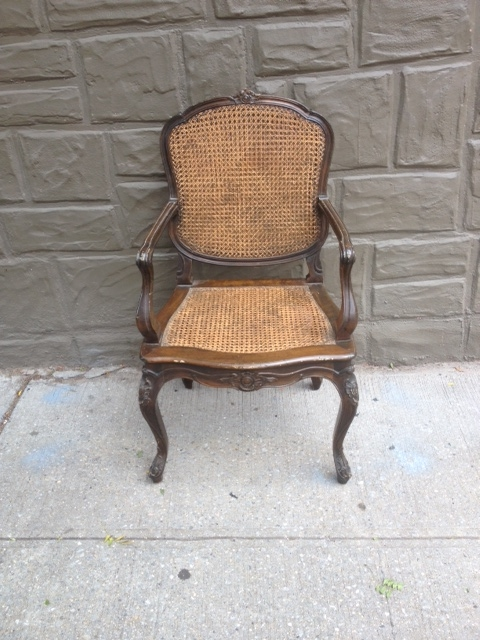Antique Wood Chairs from Spain $125