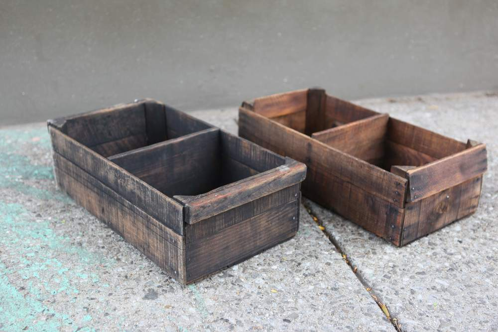Vintage Wood Boxes $60 each