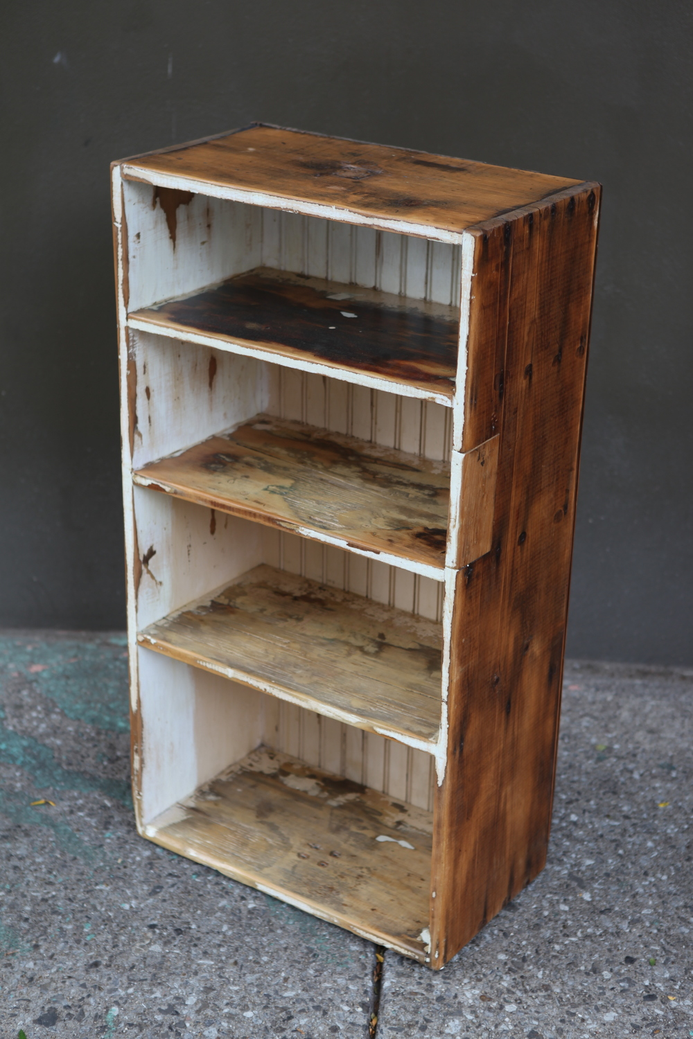 sold ! Primitive Wood Book Shelf $150