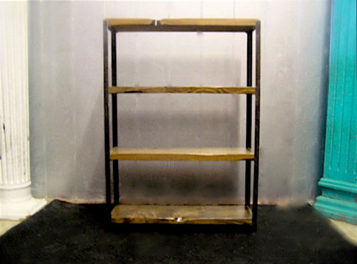 wood idaho country shop reclaimed roads bookcase bookshelf bc by cr