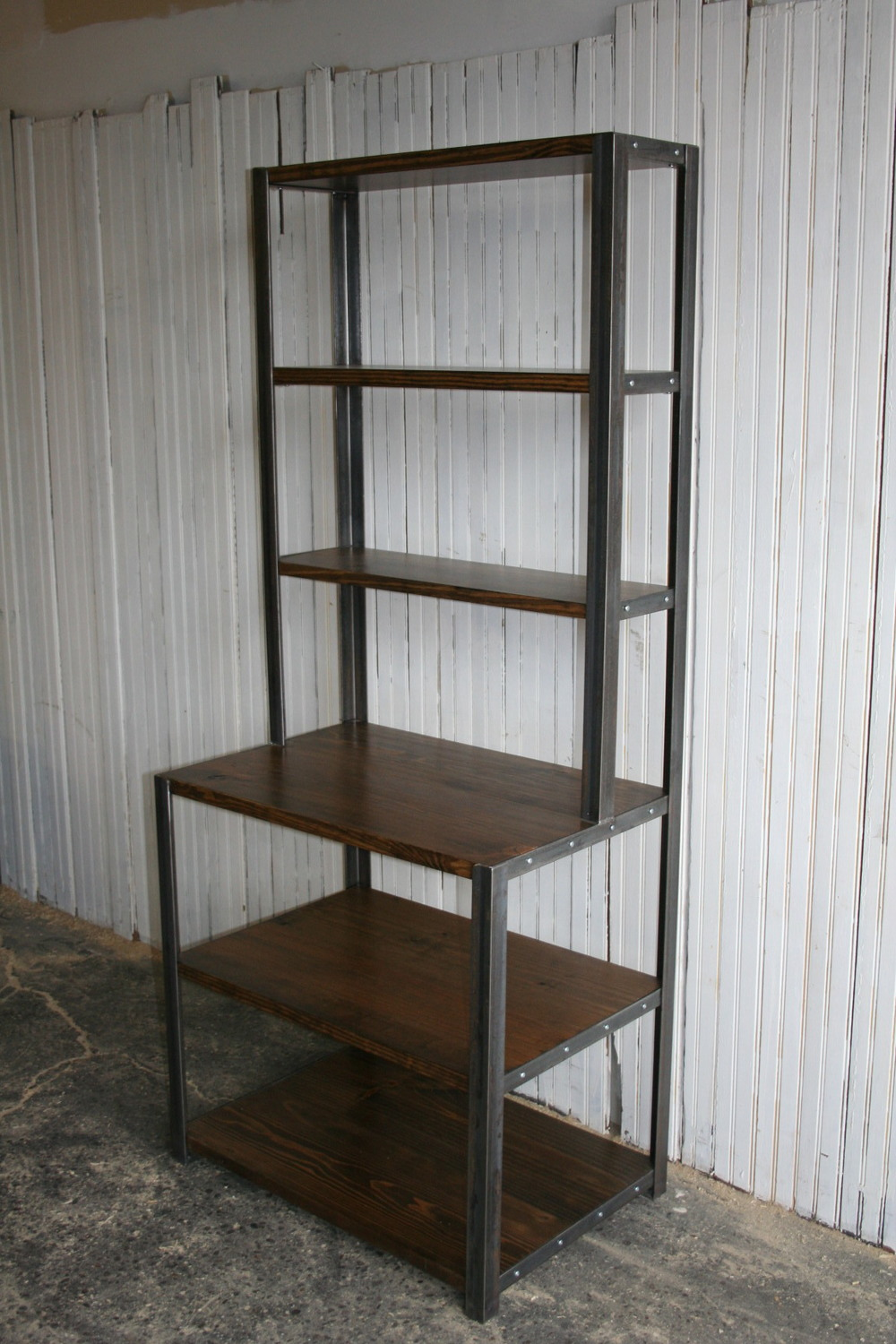Step back bookcase