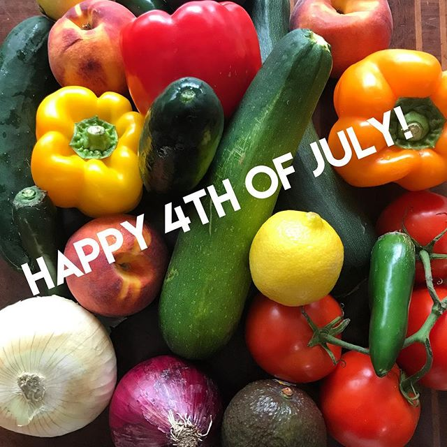Celebrating those who fought for our independence and those who serve to keep us safe. Thankful for the abundance of amazing food and those who make it possible. Join us tonight at @craftybastardbrewery at 6pm. #healthyhappyknoxville #planttastic #brew #veggies #independence
