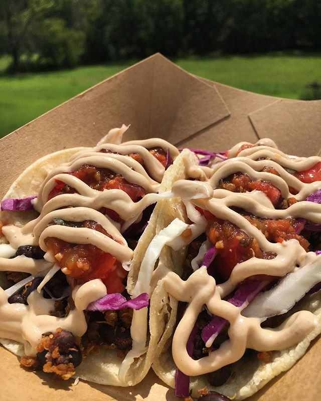 It's Taco Tuesday 🌮! See you at @craftybastardbrewery tonight at 6pm. New Chorizo Quinoa Tacos on the menu. #healthyhappyknoxville #planttastic #veggies #brew